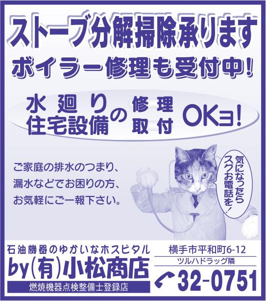 小松商店様の2019.03.15広告