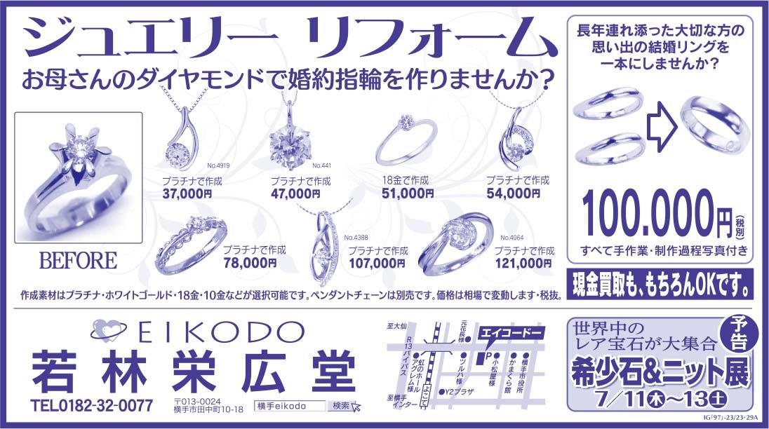 若林栄広堂様の2019.07.05号広告