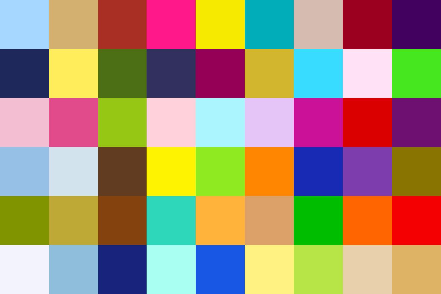 色_配色に困ったときはコレ!カラーパターン別の頼れる「色の
